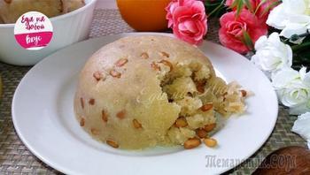 "Десерт на сковороде ""Халва по-турецки"""