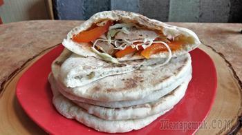 Турецкие лепешки Базлама
