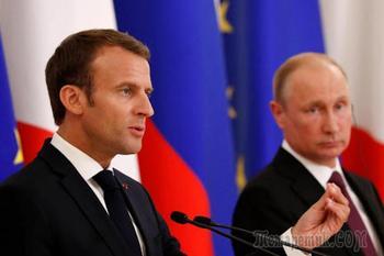 На стороне Польши: Макрон обвинил Россию в искажении истории