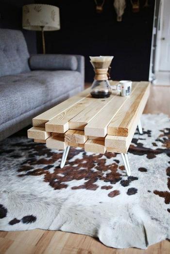 Идеи мебели из досок и пиломатериалов