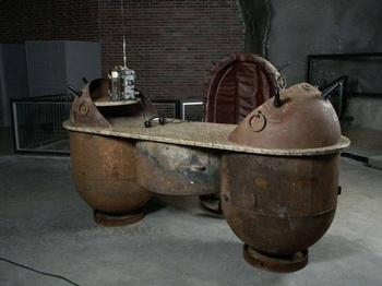 Мебель из морских мин от Мати Кармина