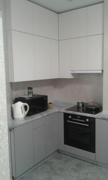 Кухня – платиновая красотка