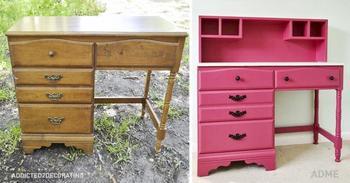 15 невероятных идей для переделки старой мебели