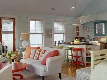 Идеи, как можно совместить кухню с гостиной