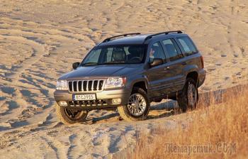 5 причин любить и ненавидеть Jeep Grand Cherokee II WJ