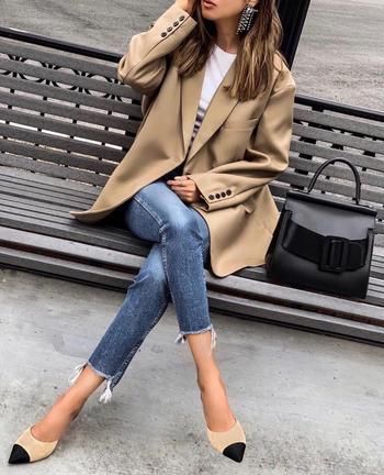 Стильные узкие брюки и джинсы