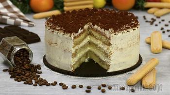 """Торт """"Тирамису"""" Вкуснейший праздничный десерт!"""
