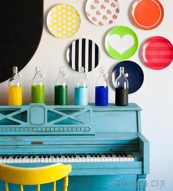 55 идей тарелок на стену: секреты необычного декора своими руками