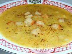 Суп из рульки с репой