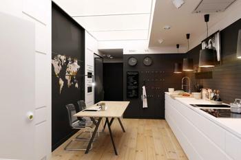 Однушка в 51 кв.м. с проходной кухней