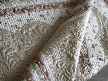 Обучаемся искусству квилтинга. Создаем нежное одеяло «Мерцание»