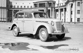 Москвич-400-421 «Буратино»: как звали Папу Карло, и какой он был национальности
