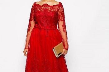 Красивые платья в пол для полных женщин