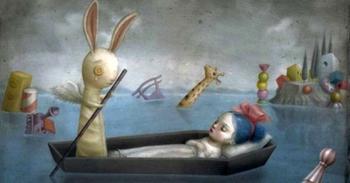 Недетские сказки Николетты Чекколи — мастера тревожных иллюстраций