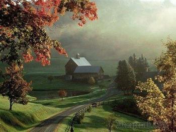 Осень плачется