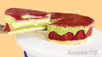 Любимый торт королей - Торт Фрезье