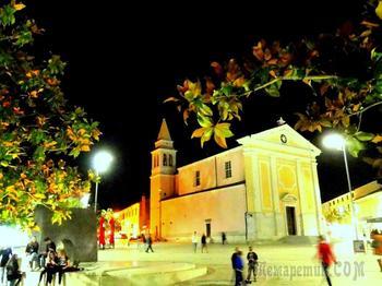 Хорватия. 9. Вечерний  Пореч и Евфразиева базилика