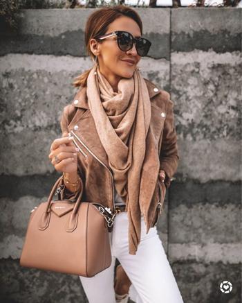 Как красиво носить платок этой зимой