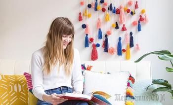 Декорируем с помощью помпонов: 5 DIY идей