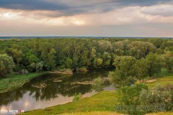 Виды Северского Донца и его окрестности