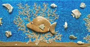 Интересные каменные картины от Стефано Фурлани