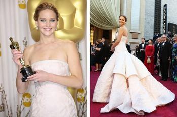 14 запоминающихся образов с красной дорожки за всю историю вручения «Оскара»