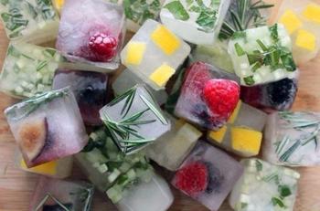 10 способов использовать формочки для льда