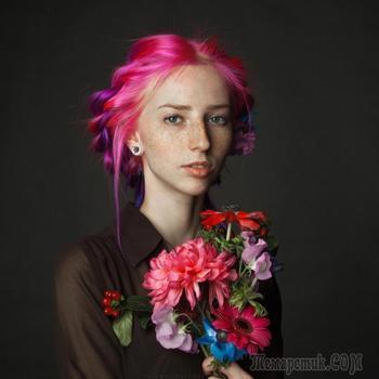 Природная красота людей в работах российского фотографа