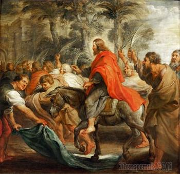 Вход Господень в Иерусалим: евангельский сюжет в живописи