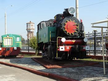 Музей железных дорого Узбекистана... Ташкент