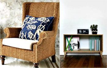 15 необычных предметов мебели и элементов декора, сделанных из ниток, веревок и канатов