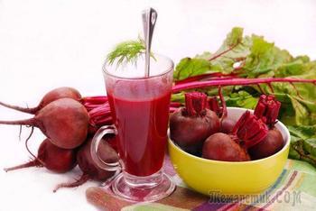 Свекольный сок: правила употребления, польза и вред