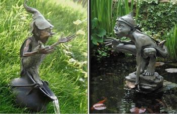 Бронзовые озорники британского скульптура Дэвида Гуда, которые дарят людям хорошее настроение
