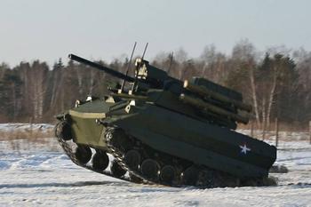 Беспилотный танк «Калашникова». Боевой робот тяжелого класса: размышления на тему