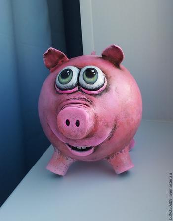 Свинка-копилка своими руками