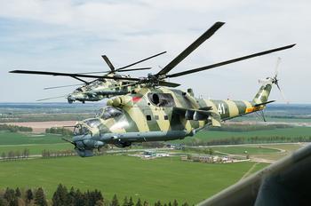 Ми-24 Боевой ударный вертолёт