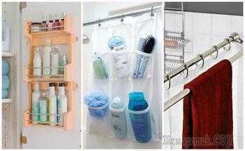 10 приёмов для хранения в маленькой ванной, с которыми даже десятки тюбиков обретут свое место