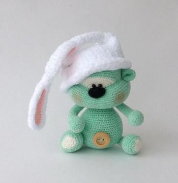 Милые вязаные игрушки от Елены Химинченко