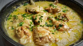 Курица в сливочном соусе