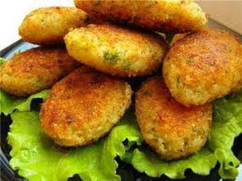 Необычные котлеты с картофелем и сыром