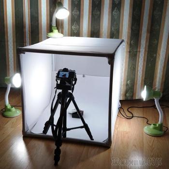 Фотобокс для предметной съёмки своими руками