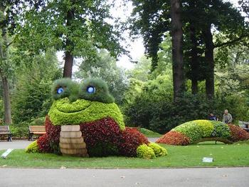 Сад во французском Нанте