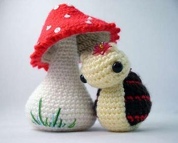 Амигурами - искусство вязания игрушек