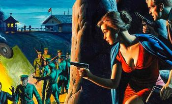 Как в Америке представляли на картинках войну с СССР