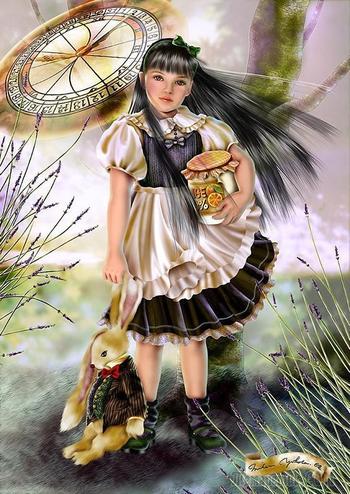 Солнечный мир волшебной поры детства Йокота Михару (Yokota Miharu)