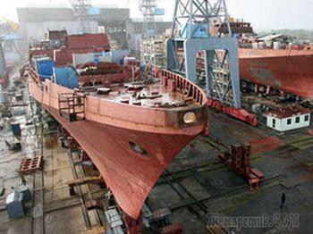 В Николаеве остановился судостроительный завод — нет денег на достройку ракетного крейсера