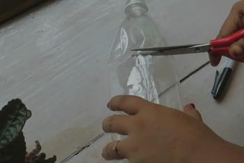 Интересная идея переработки пластиковой бутылки
