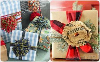Необычные и доступные упаковки для новогодних подарков, которые легко сделать своими руками