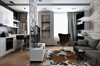 Наглядные примеры и советы по обустройству однокомнатной квартиры