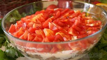 Этот чудо салат никогда не надоест! Потрясающе вкусный и необычный!